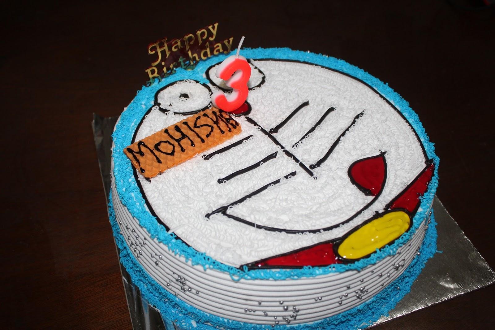 Doraemon cake, doraemon birthday cake
