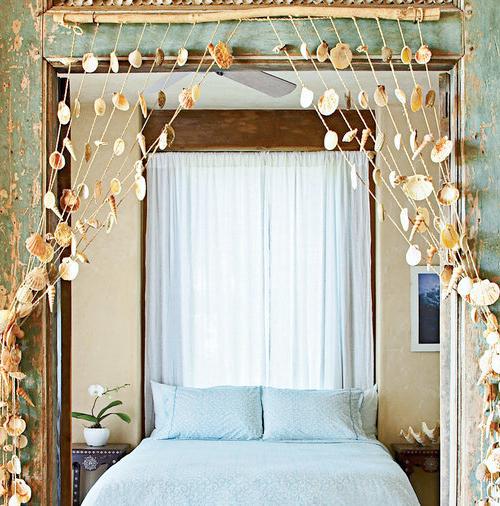 Seashell Garland   Shell Hanging Curtain Door