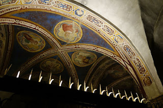 San Miniato Florence Italy Gregorian Chant arches of art