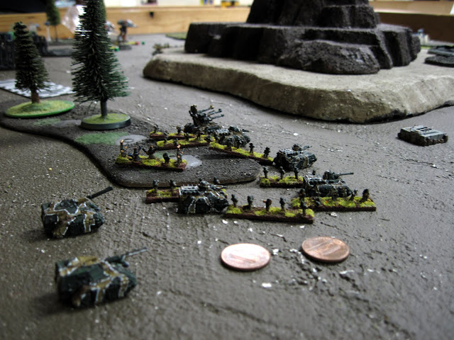 Karl's Mech Coy holds an objective.