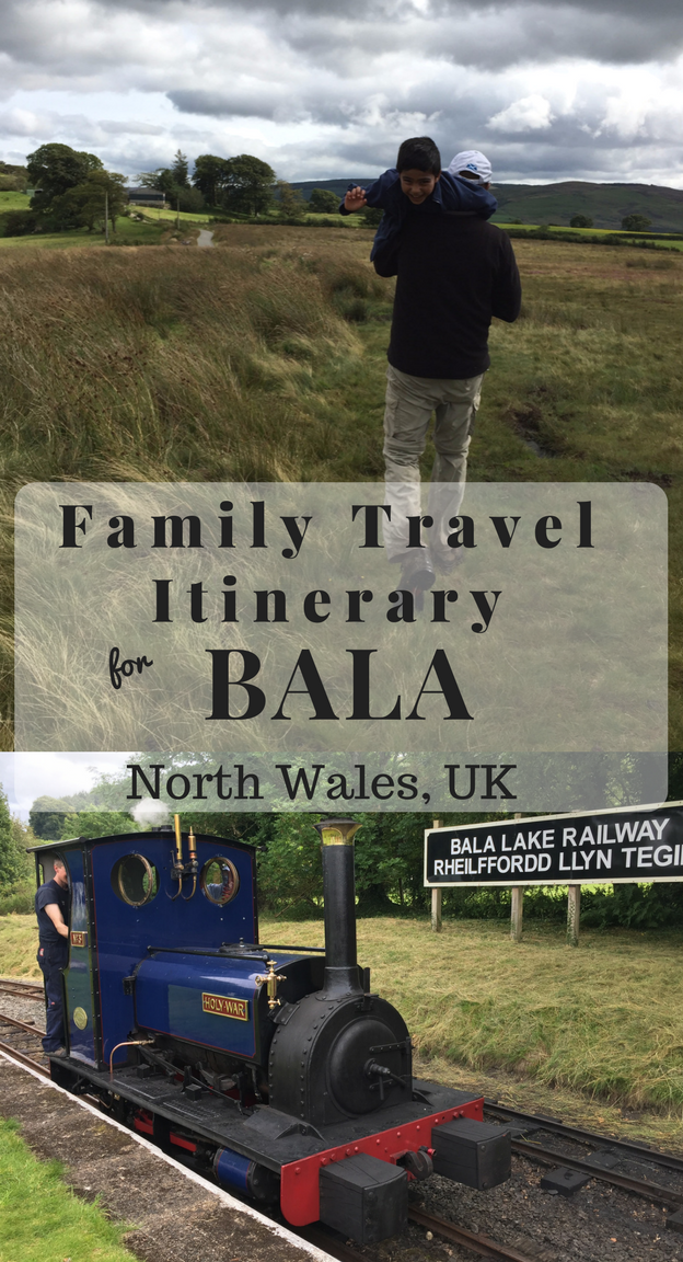 Family Travel Itinerary for Bala, North Wales