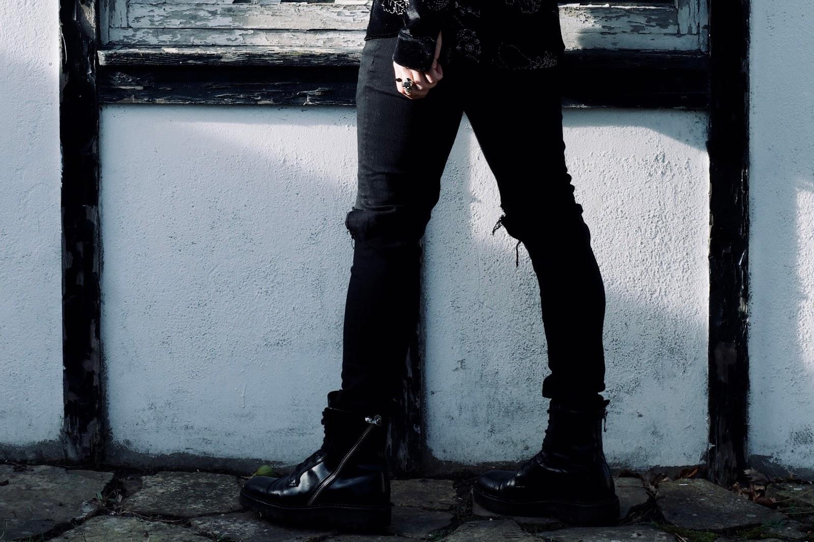 mens style velvet