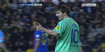 LFP-Week-34 : Levante 1 vs 2 Barcelona 15-04-2012