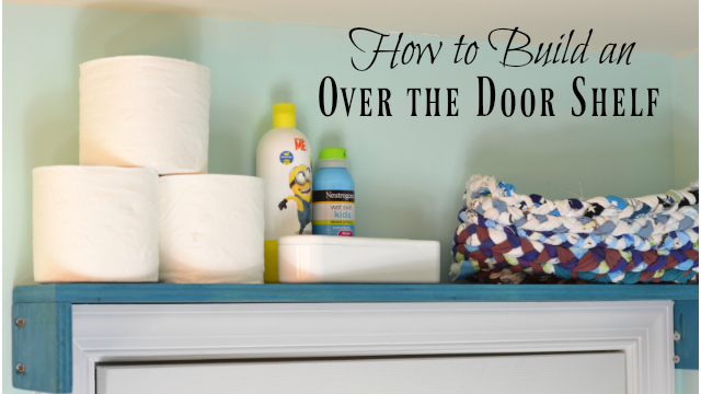 Add a DIY Door Shelf
