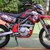 Cara Modifikasi Kawasaki KLX Gaya Grasstrack