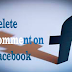 Delete Comment On Facebook