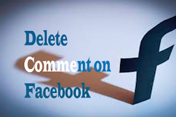 How Can I Delete My Comment On Facebook