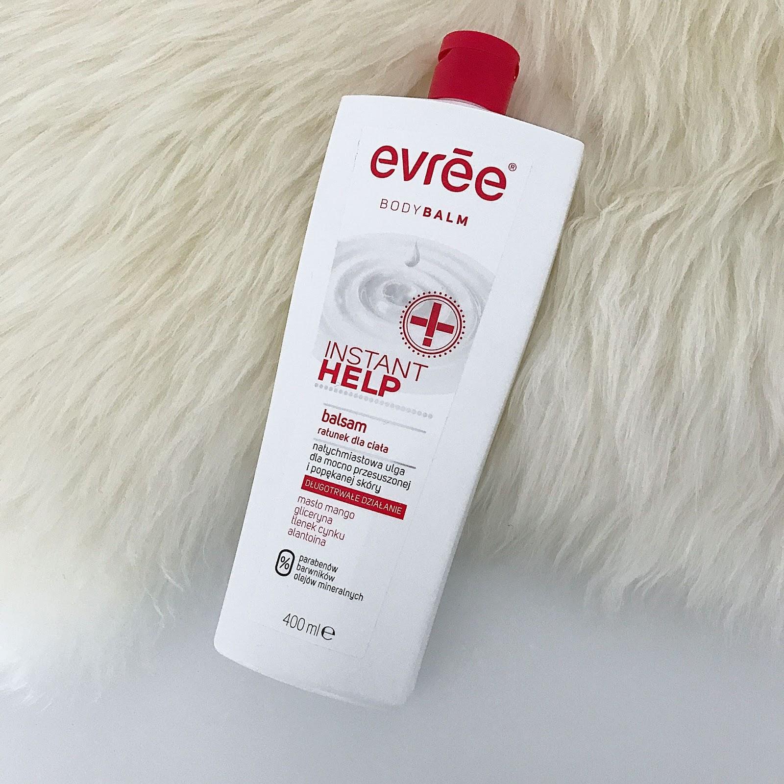 Evree, Instant help, balsam ratunek dla ciała , balsam Evree, Evree,