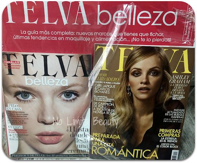Regalos revistas febrero 2017: Telva