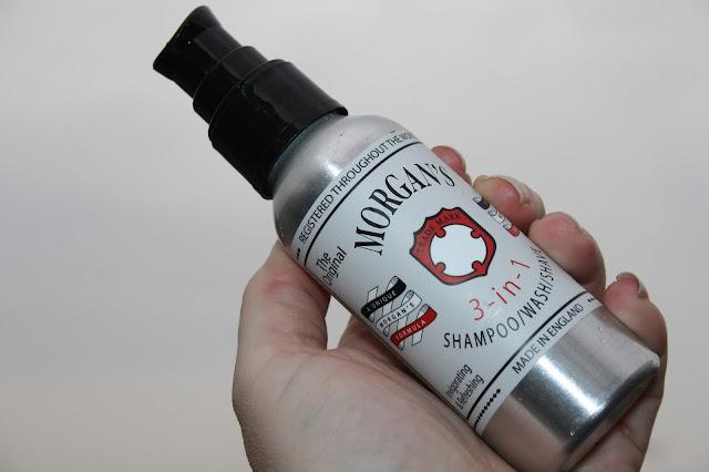 Morgan's 3-in-1 Shampoo/Wash/Shave