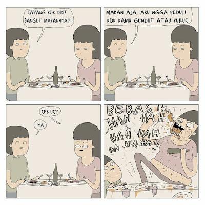7 Komik Strip 'Nggak Mudah Ketebak' Ini Kocaknya Receh Abis