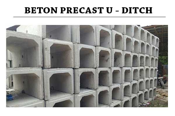 HARGA U DITCH BETON BEKASI