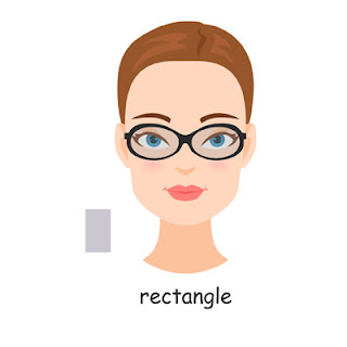 rectangle face shape glasses