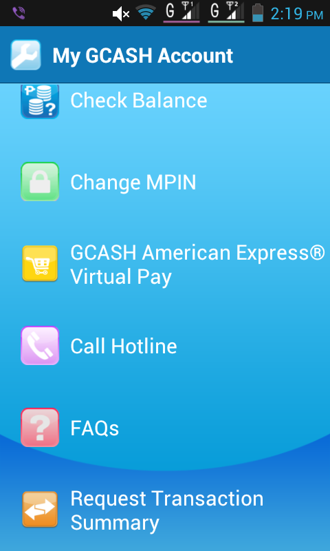 Applying for the Gcash American Express Virtual Pay Account