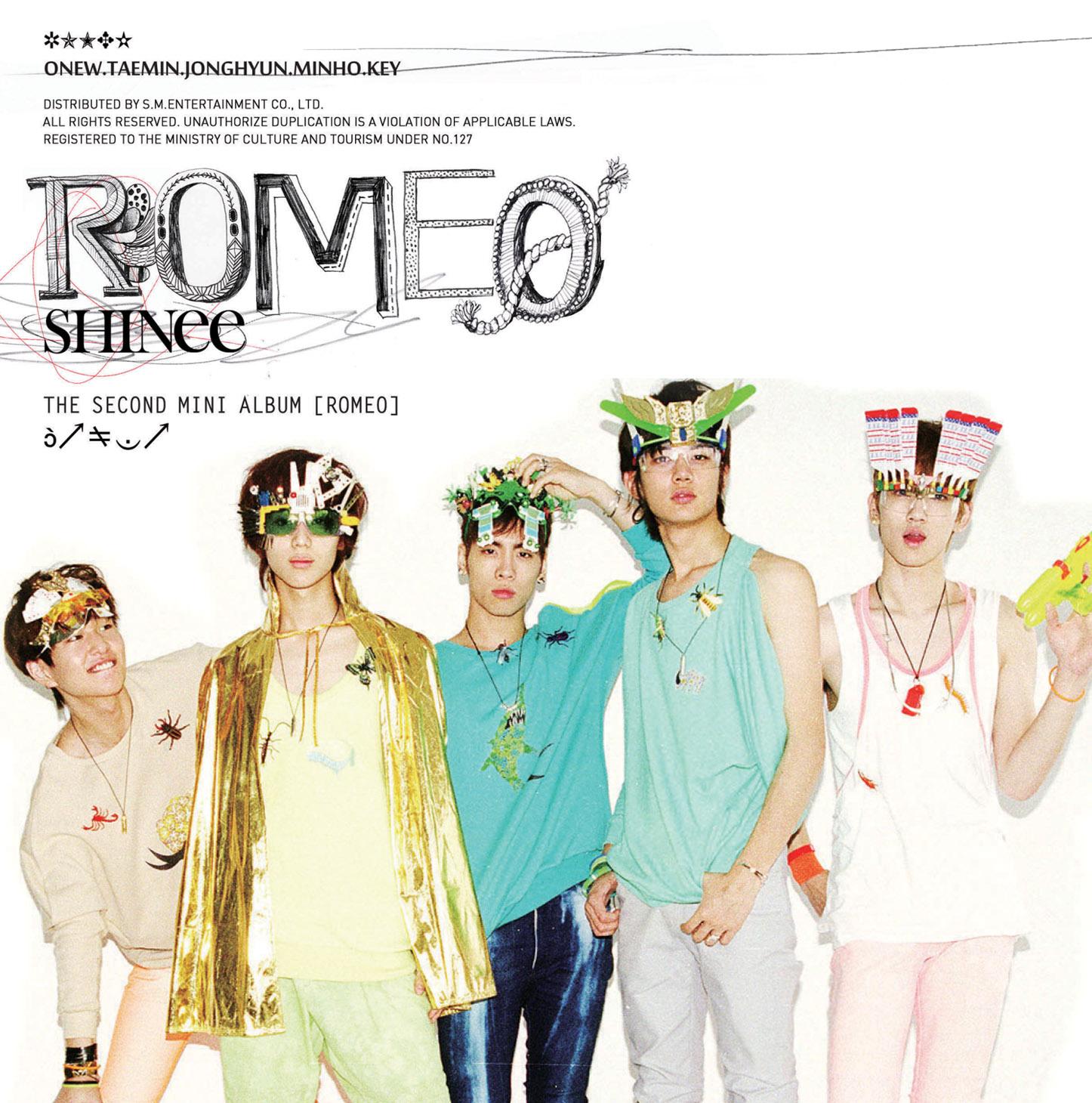 Album SHINee dan Lirik Lagu - Shining World SHINee