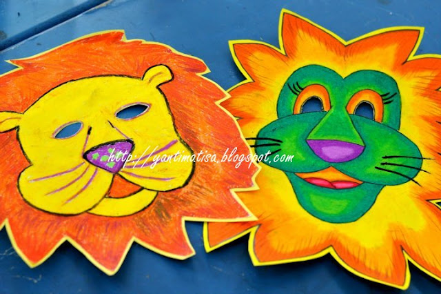 Dunia Seni Visual Sekolah Rendah DSV Tahun 2  Topeng Muka