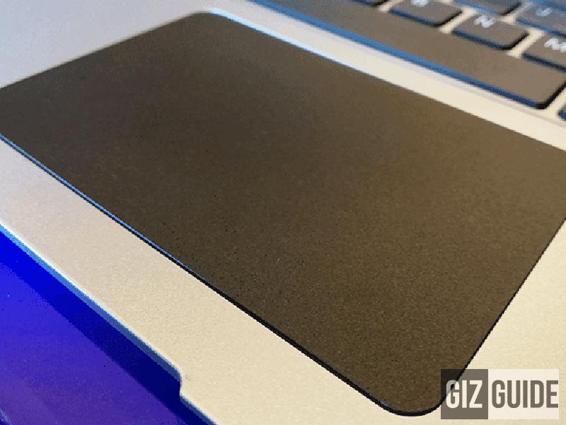 Spacious touchpad