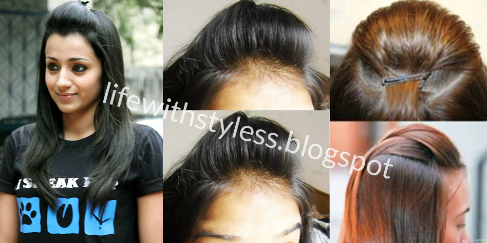 Step by step hairstyles tutorial