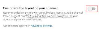 Cara Membuat Section pada Channel YouTube