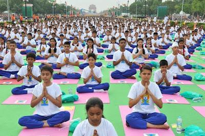 International Yoga Day essay - 400 words