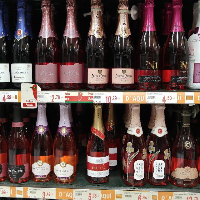 mousseux-rosés,les meilleurs,barcelone,espagne,blog,madamegin,madame-gin