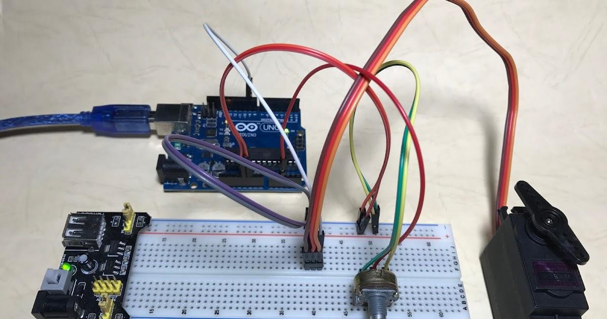 Arduino筆記(15):控制伺服馬達 Servo | 天花板隨記