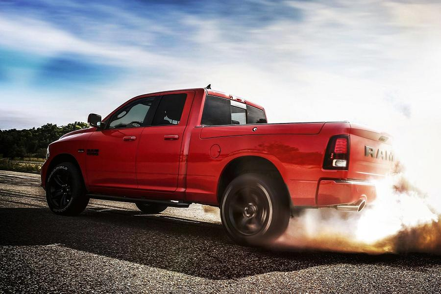 2017 ram 1500 night edition announced autoesque. Black Bedroom Furniture Sets. Home Design Ideas