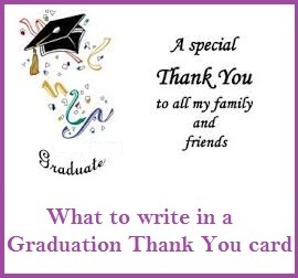 Thank you messages graduation receiving a gift for graduation is a wonderful thing and a heartfelt message of thanks must follow when you write a message on a graduation card expocarfo