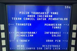 Beli Token Listrik PLN di ATM