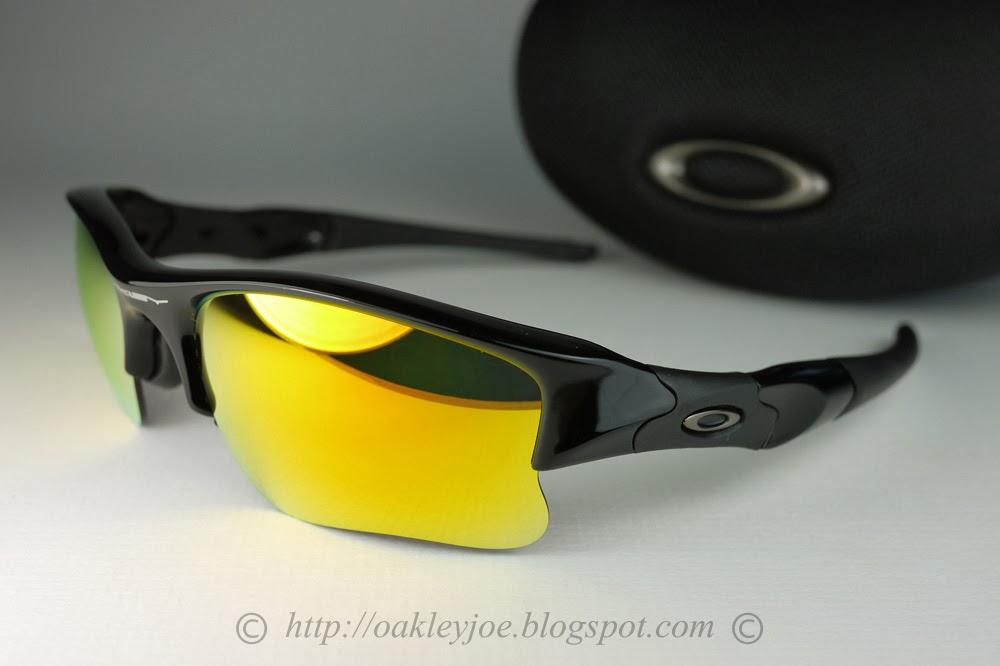 6f46b17a8b Oakley Flak Jacket Xlj Polarized Black Iridium Lenses