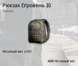 Рюкзак (Уровень 3) (Backpack Lv.3)