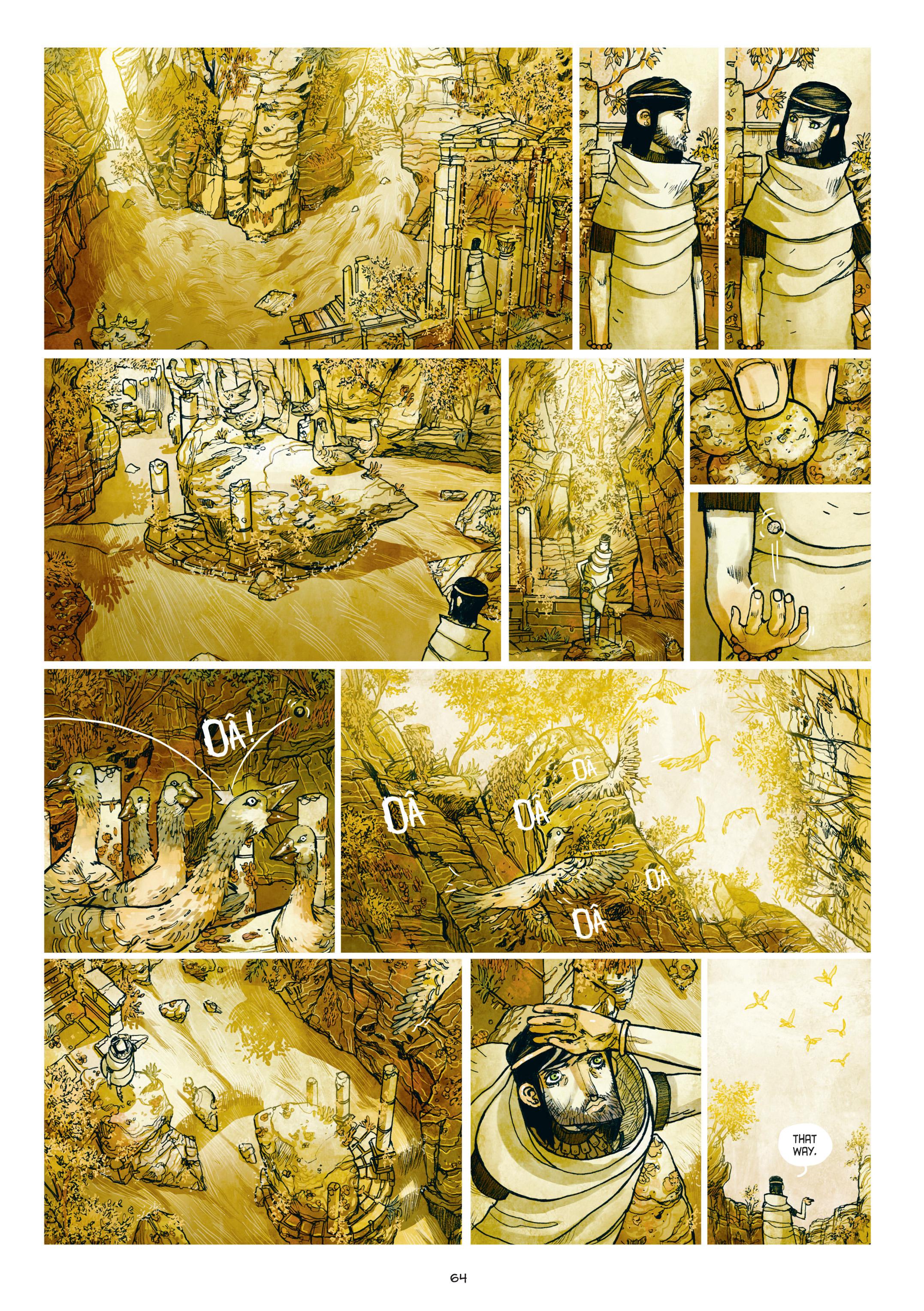 Read online Adrastée comic -  Issue #1 - 65