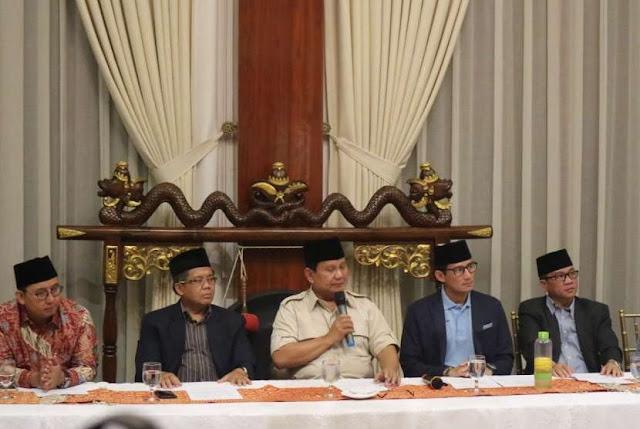 Prabowo Ungkap Alasan SBY tak Hadiri Pertemuan Koalisi