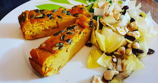 cake salé butternut sans gluten sans lactose