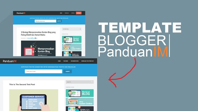 Free Template Blogspot Mirip Blog PanduanIM