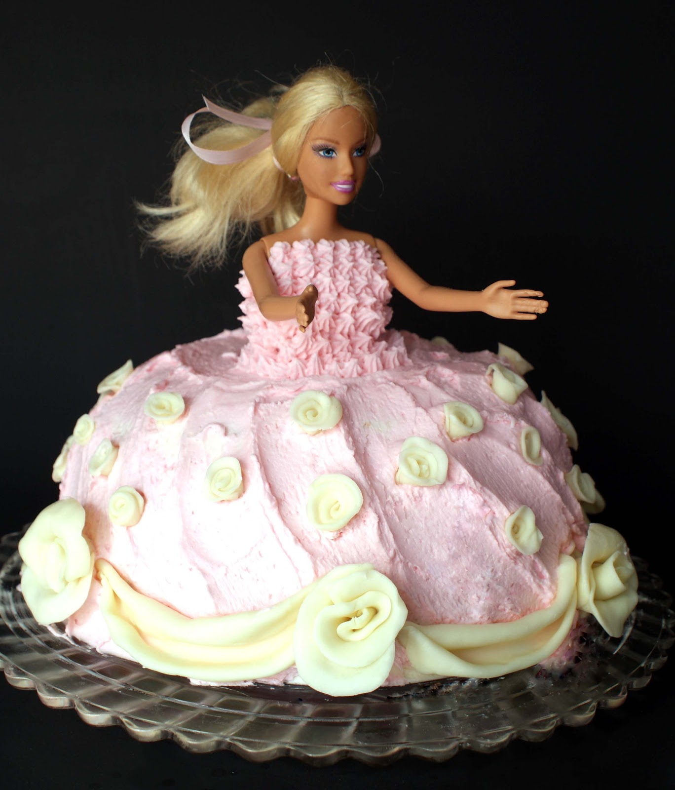 Princess Birthday Cake Crunchy Creamy Sweet