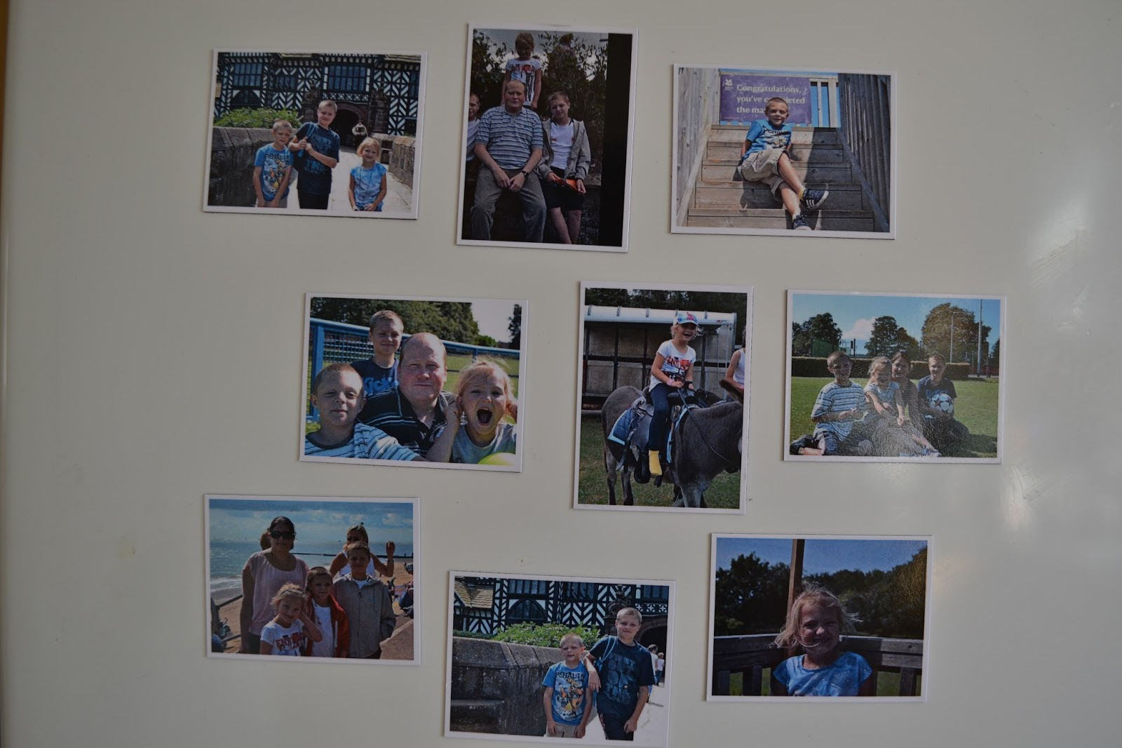 photo magnets @ ups and downs, smiles and frowns
