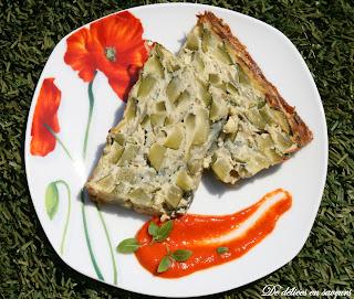 Cake Tomates Poivrons Feta