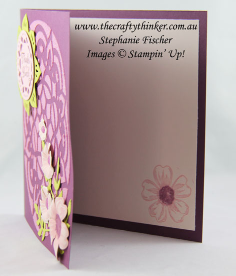Beautiful Bouquet, Embossing Paste, Pattern Party Masks, Eastern Medallions, #thecraftythinker, Stampin' Up Australia Demonstrator, Stephanie Fischer, Sydney NSW