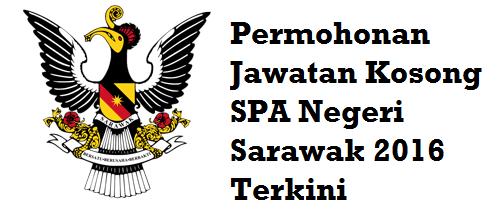 permohonan Jawatan Kosong SPA Sarawak 2016