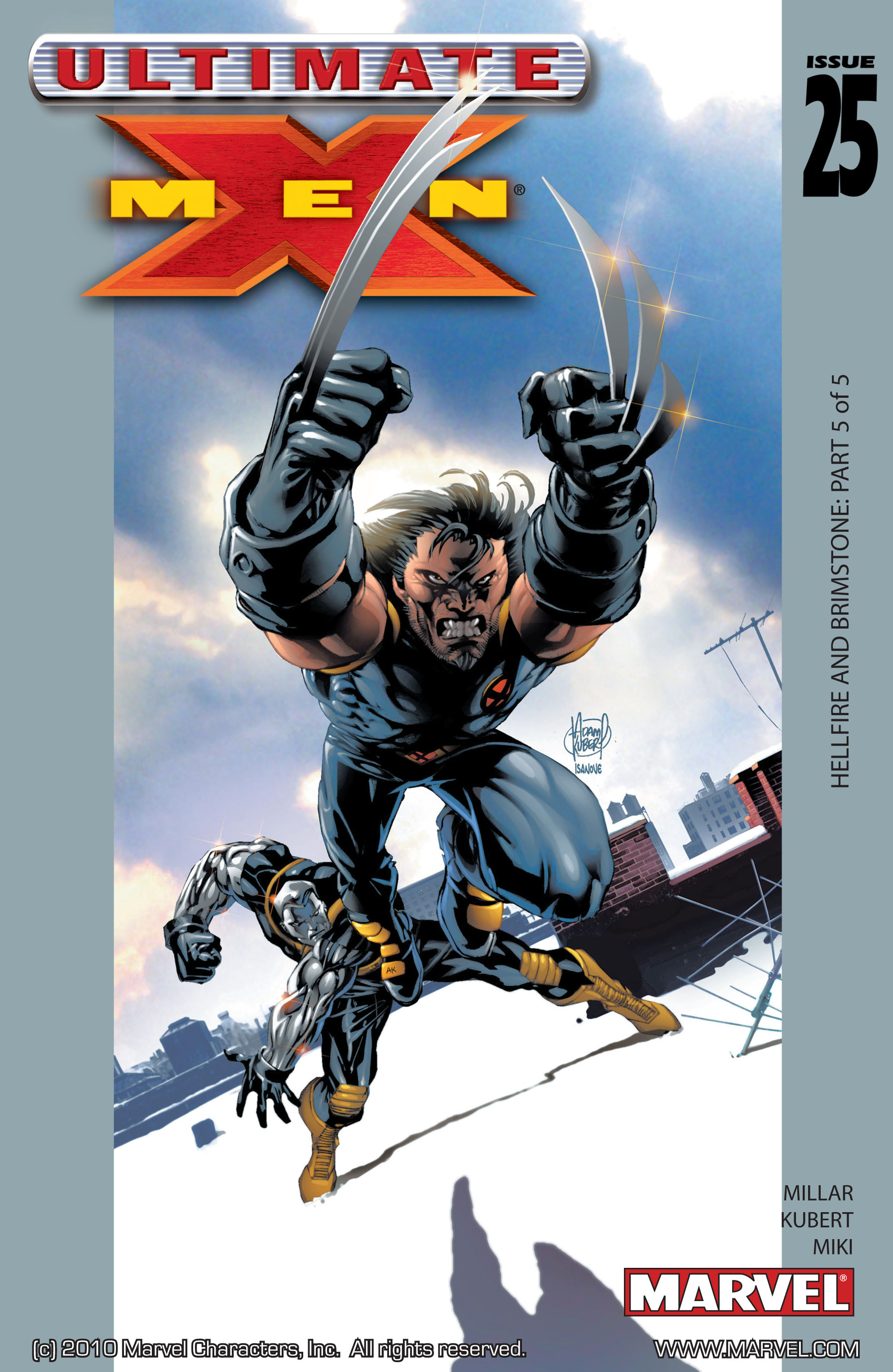 Read online Ultimate X-Men comic -  Issue #25 - 1