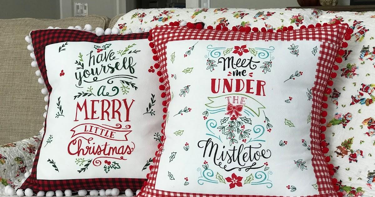Everyday Celebrations Tutorial Handmade Pillows Using A