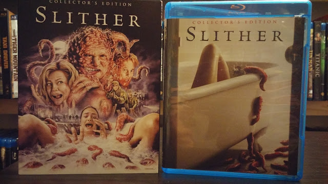 front covers for the scream factory release of slither