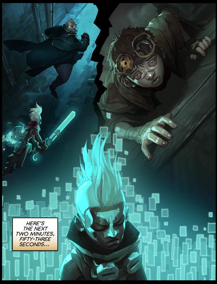 Time Wallpaper Quotes Surrender At 20 Ekko Chronobreak Comic