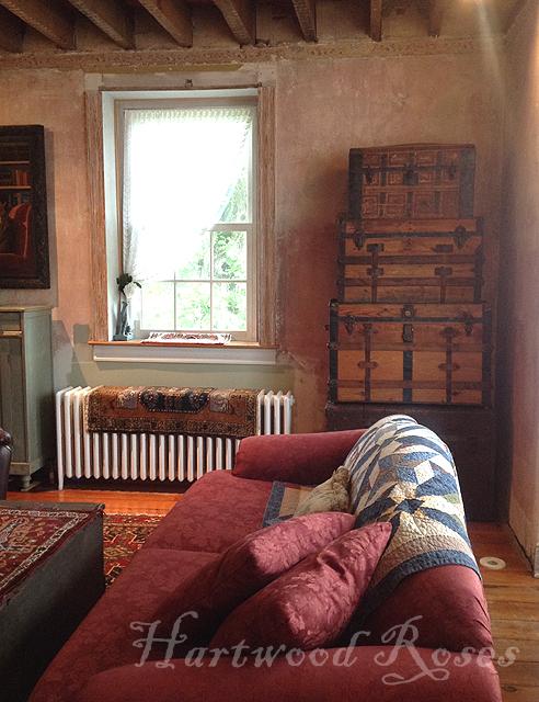 hartwood roses come into our living room. Black Bedroom Furniture Sets. Home Design Ideas