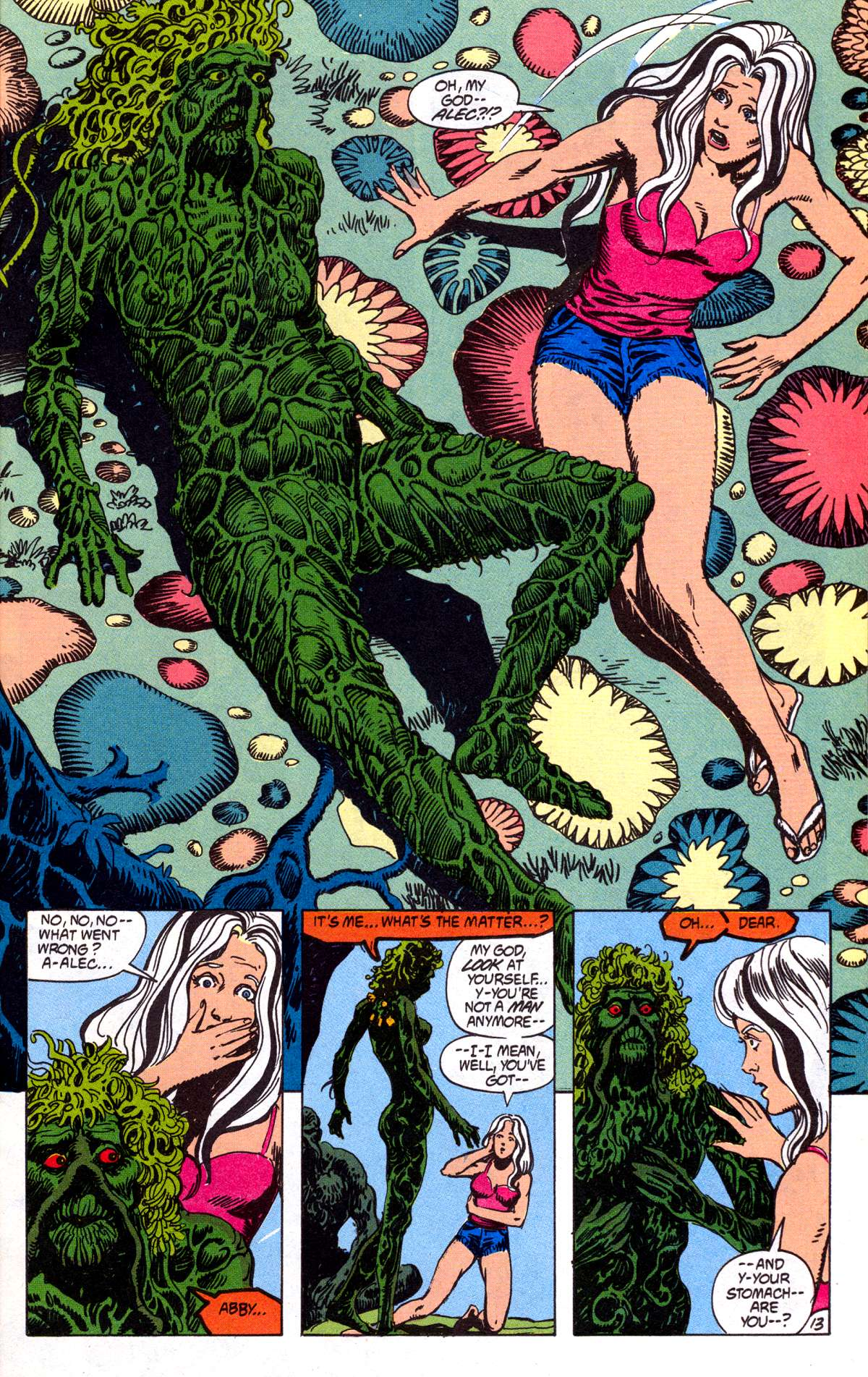 Swamp Thing (1982) Issue #78 #86 - English 14