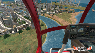 Helicopter Simulator 2016 MOD APK - Screenshot -2