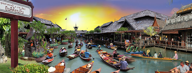 Four Regions Floating Market