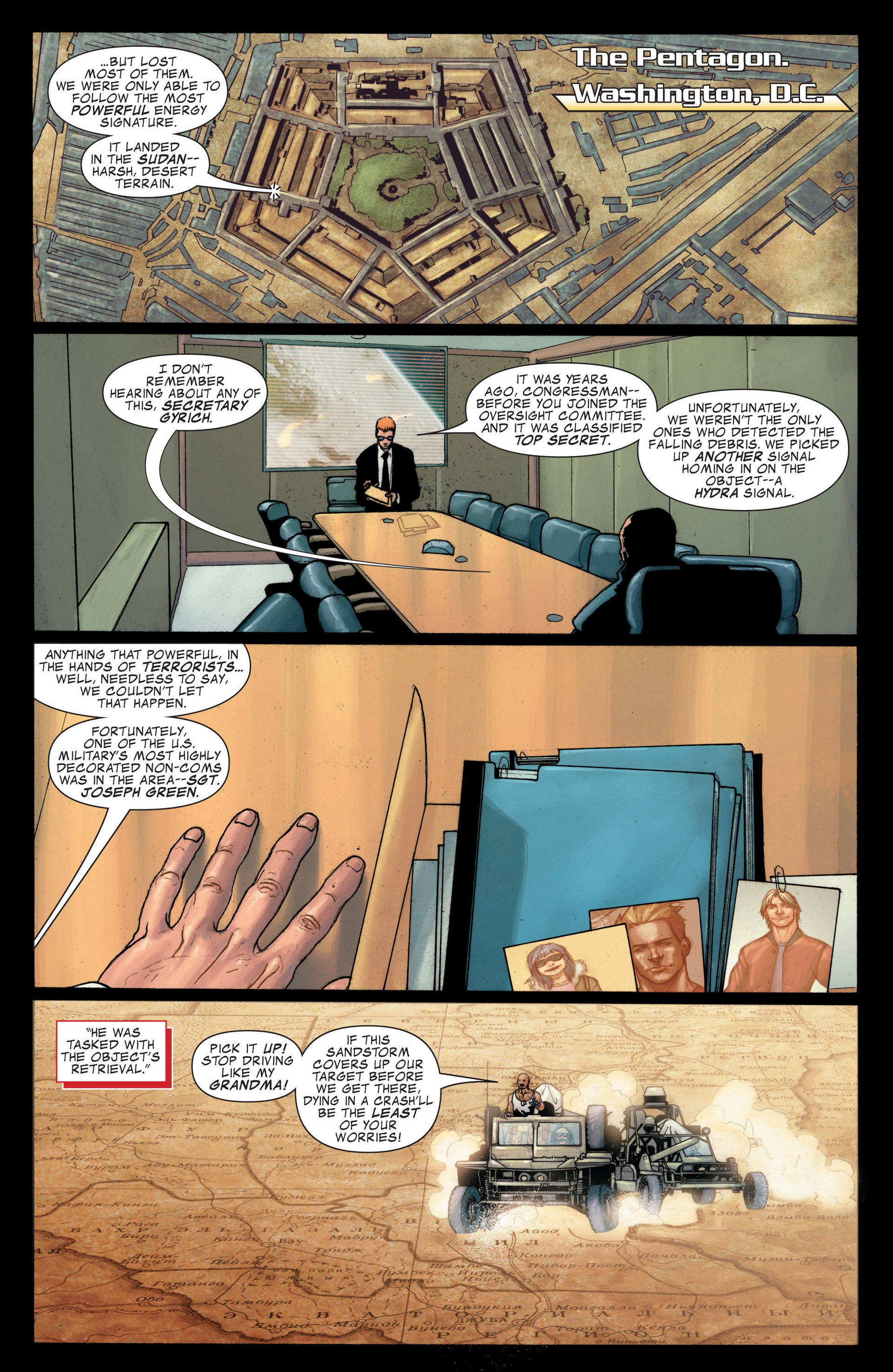 Read online Secret Invasion: The Infiltration comic -  Issue #4 - 4