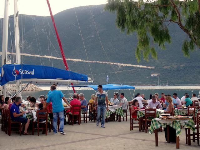Restaurant Miramare in Vasiliki
